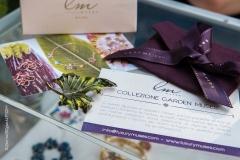 Esposizione collezione Garden Muses a Orticola 2018, stand Mediterranea Cosmetics