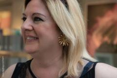 Silvia Ramilli indossa orecchini Garden Muses