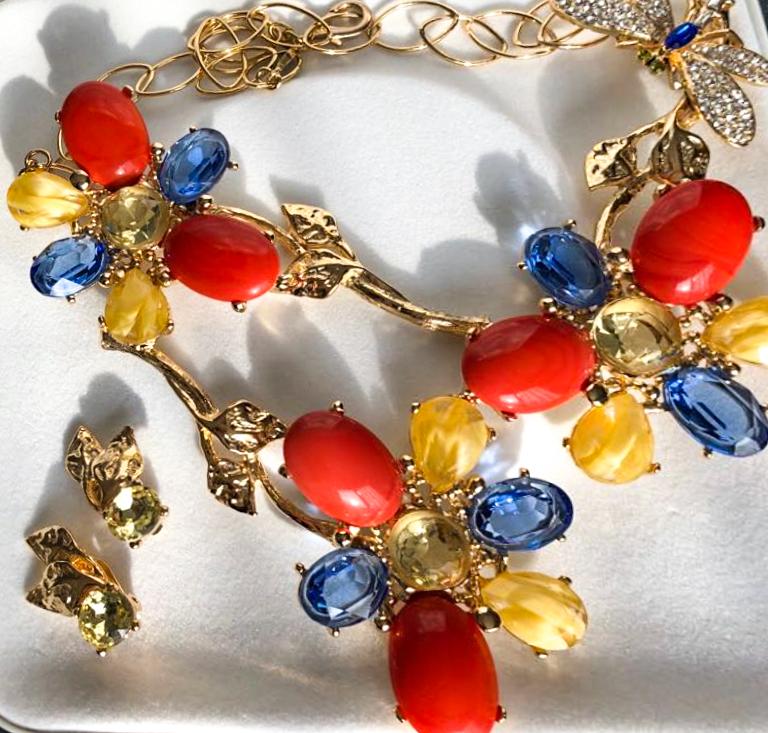Collana Garden Muses realizzata per Barbara Ghilardi Carli
