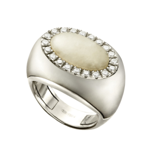 anello domm arco argento