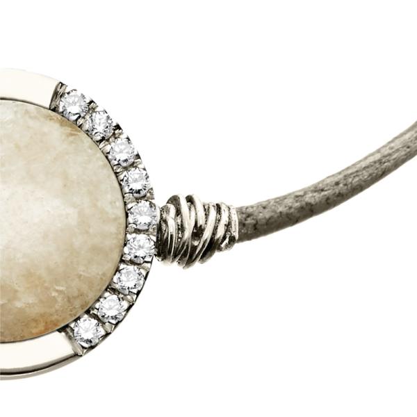 bracciale domm rosone visconti argento dettaglio 1