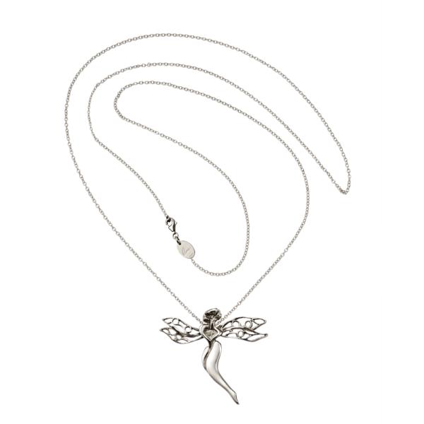 gioiello libellula argento