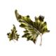 orecchini garden due foglie