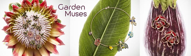 Luxury Muses con la nuova collezione Garden Muses a Mostra Orticola 2018